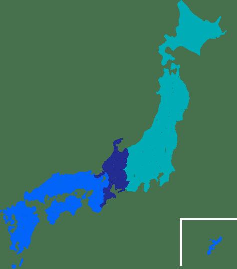 東京本部,名古屋支店,大阪支店